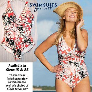 NWT in Package Twist Front Maillot by Shore Club